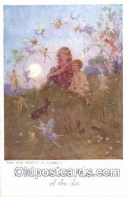 fyt001057 - Artist Margaret W. Tarrant Fairy Tale Postcard Post Card