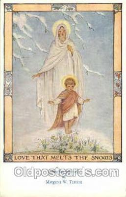 fyt001075 - Artist Margaret W. Tarrant, Medici Society, Postcard Post Card