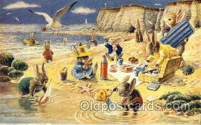 fyt001084 - Artist Racey Helps, The Medci Society, Ltd. London, Postcard Post Card