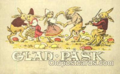 fyt001086 - Glad Pask, Postcard Post Card