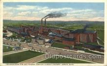 fac001004 - Factory, Factories, Postcard Post Card