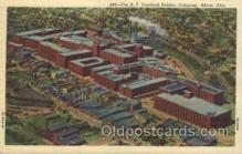 fac001009 - Factory, Factories, Postcard Post Card