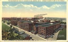 fac001019 - Factory, Factories, Postcard Post Card
