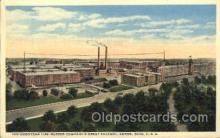 fac001022 - Factory, Factories, Postcard Post Card
