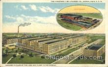 fac001024 - Factory, Factories, Postcard Post Card