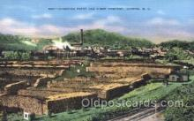 fac001034 - Champion Paper, Canton, N.C., North Carolina, USA Factory Postcard Post Card