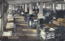 fac001056 - Cover Presses, The Curtis Publishing Co., Philadephia, USA Philadephia Factory Postcard Post Card