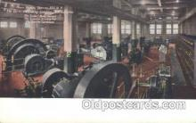 fac001058 - Power Division, The Curtis Publishing Co., Philadephia, USA Philadephia Factory Postcard Post Card