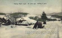 fac001079 - Making Maple Sugar 25 Years Ago  Postcard Post Cards Old Vintage Antique