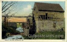 fac001084 - Historic Old Mill Bardstown, KY, USA Postcard Post Cards Old Vintage Antique