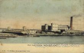 fac001100 - Beet Sugar Factory Menominee, MI, USA Postcard Post Cards Old Vintage Antique