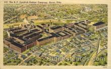 fac001111 - BF Goodrich Rubber Company Akron, OH, USA Postcard Post Cards Old Vintage Antique