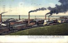 fac001112 - Solvay Process Works Syracuse, NY, USA Postcard Post Cards Old Vintage Antique