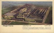 fac001113 - Ford Motor Company Detroit, MI, USA Postcard Post Cards Old Vintage Antique