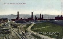 fac001127 - AS & R Co Smelter East Helena, MT, USA Postcard Post Cards Old Vintage Antique