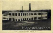 fac001133 - Wolff Worsted Mills Ashaway, RI, USA Postcard Post Cards Old Vintage Antique