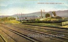 fac001138 - Carnegie Steel Works Bellaire, OH, USA Postcard Post Cards Old Vintage Antique