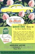 fac002006 - Wuaker State Motor Oil Camden, NY, USA Postcard Post Cards Old Vintage Antique