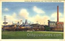 fac002012 - Chevrolet Motor Company, Grey Iron Foundry Saginaw, MI, USA Postcard Post Cards Old Vintage Antique