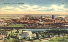 fac002017 - Ford Plant Dearborn, MI, USA Postcard Post Cards Old Vintage Antique