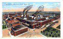 fac002026 - Studebaker Auto Plant South Bend, IN, USA Postcard Post Cards Old Vintage Antique