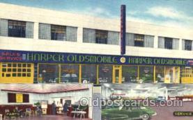 fac002031 - Harper Motors Corporation, car Dealer Brooklyn, NY, USA Postcard Post Cards Old Vintage Antique