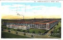 fac002034 - Hudson Motor Car Co Detroit, MI, USA Postcard Post Cards Old Vintage Antique