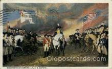 fam100003 - Surrender of cornwallis, US Capital Famous People Postcard Post Card