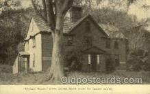 fam100014 - Orchard House, Louisa Alcott write her famous stories Famous People Postcard Post Card