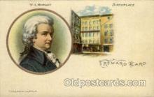fam100021 - W.A. Mozart Famous People Postcard Post Card