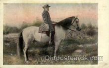 fam100025 - Gen. Robert E. Lee on Traveler Famous People Postcard Post Card