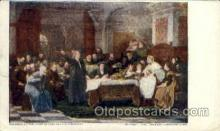fam100036 - Columbus at the court of Ferdinand and isabella Famous People Postcard Post Card