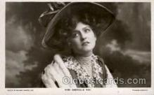 fam100039 - Miss Cabrielle Ray Famous People Postcard Post Card