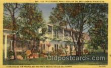 fam100042 - The Will Rogers' ranch house, Santa Monica mountain Famous People Postcard Post Card