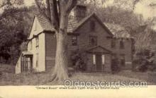 fam100049 - Orcard House, Louisa Alcott Famous People Postcard Post Card