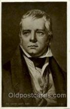 fam100080 - Sir Walter Scott, Bart Famous People Postcard Post Card