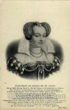 fam100082 - Marguerite De France Ou De Valois Famous People Postcard Post Card