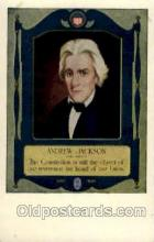 fam100089 - Andrew Jackson Famous People Postcard Post Card