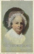 fam100194 - Martha Washington First President of USA Wifes, Famous People Old Vintage Antique,  Postcard Post Card