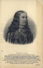 fam100228 - Jeanne D'Arc Famous People Old Vintage Antique,  Postcard Post Card