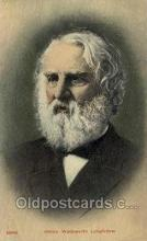 fam100263 - Henry Wadsworth Longfellow Famous People Old Vintage Antique,  Postcard Post Card