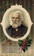 fam100264 - Henry Wadsworth Longfellow Famous People Old Vintage Antique,  Postcard Post Card
