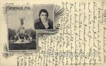 fam100297 - Francis Scott Key Famous People Old Vintage Antique Postcard Post Card
