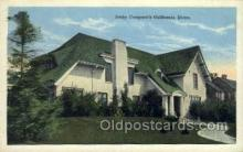 fam100300 - Betty Compson's home Famous People Old Vintage Antique Postcard Post Card