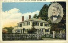 fam100310 - Ralph Waldo Emerson Famous People Old Vintage Antique Postcard Post Card