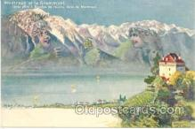 fan001024 - Artist F. Killinger Fantasy Postcard Post Card