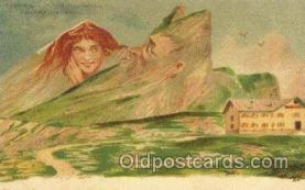 fan001029 - Artist F. Killinger Fantasy Postcard Post Card