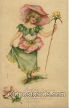 fan001311 - Birthday Greeting Fantasy Postcard Post Card