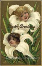 fan001315 - Easter Greetings Fantasy Postcard Post Card