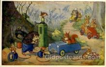 fan001362 - PK 244 Artist Molly Brett, Fantasy Postcard Post Card